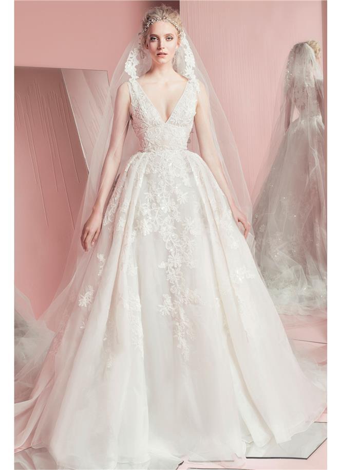 9393b3864d50 Blog Nebeské svadobné šaty z kolekcie Zuhair Murad 2016