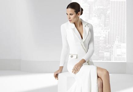 2e1eb704d5dc Články Svadobné šaty  Vintage svadobná kolekcia Franc Sarabia 2016 ...