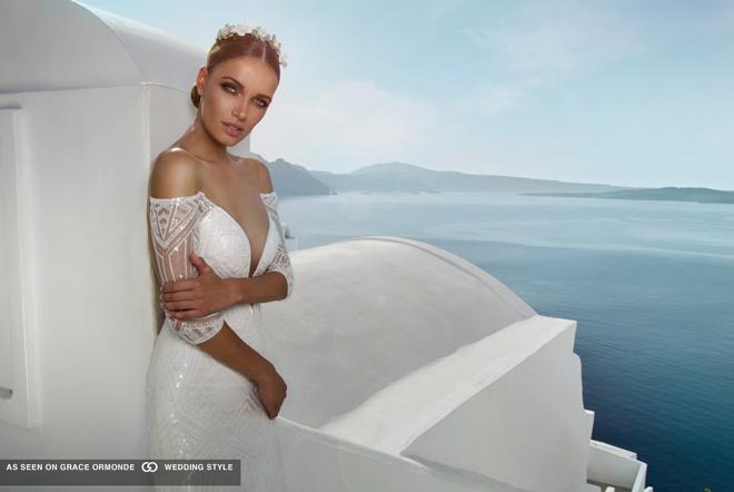 Svadobné šaty Svadobné šaty  Pôvabná Julie Vino a jej nová kolekcia ... db17608dc83