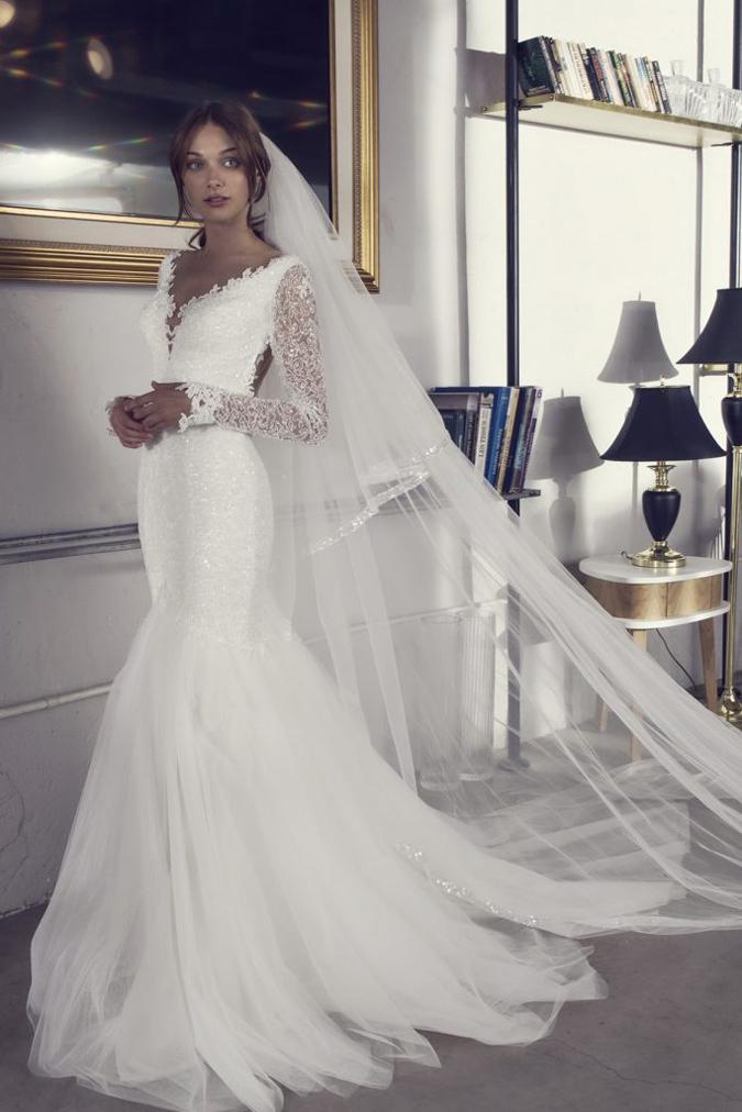 Svadobné šaty Svadobné šaty Riki Dalal  Fantázia sa prebudila k ... d2c871dee7a