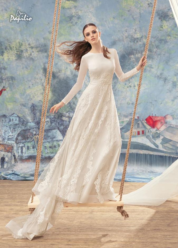 e6c21518f26f Svadobné šaty Svadobná kolekcia Papilio 2017  Keď láska vdýchne ...