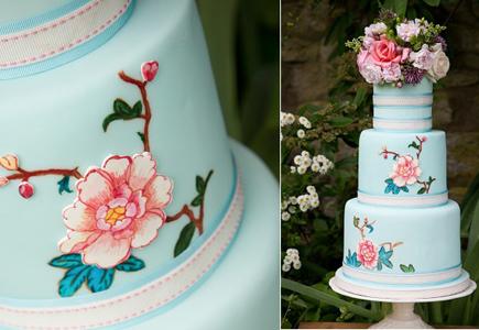 81d9162504 Články Trendom jari 2017 sú ručne maľované svadobné torty!