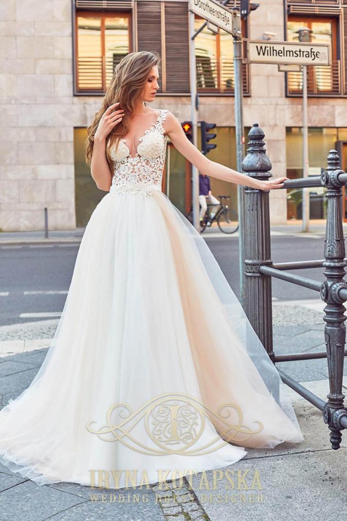 Handmade svadba Iryna Kotapska  Svadobné šaty z kolekcie Sans Souci ... 3afbd45c409