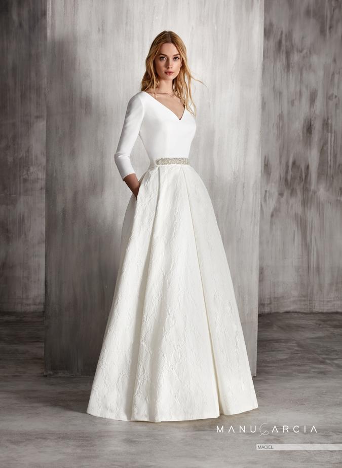 Svadobné šaty Svadobné šaty Manu Garcia  Dramatické ako z ... a745283e600