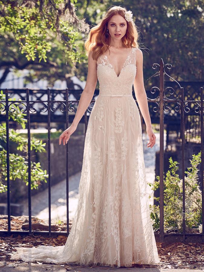 Svadobné šaty Maggie Sottero oslavuje dvadsaťročnicu... Gratulujeme ... 272ea235f47