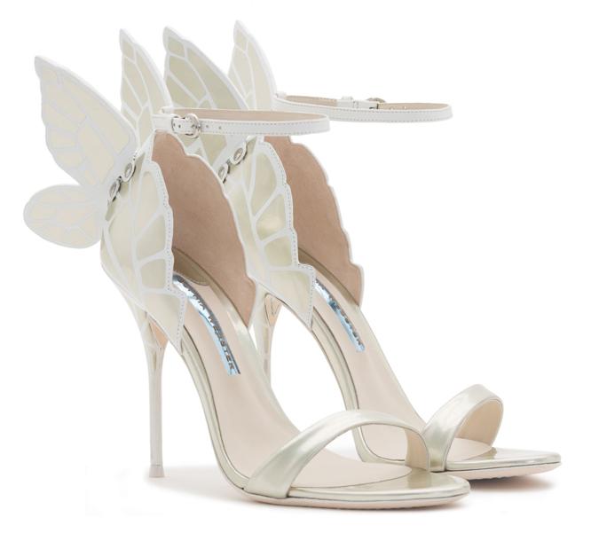 8cb369534076 Články Sophia Webster  Svadobné topánky na motýlích krídlach ...
