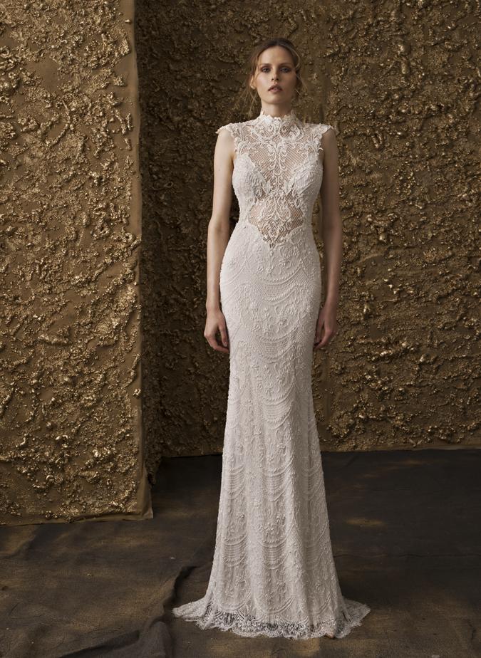 0af6205e9c95 Svadobné šaty Svadobné šaty s dotykom zlata od Nurit Hen