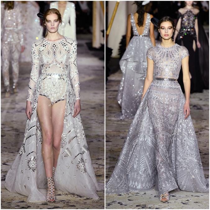 60919ff4fb77 Články Parížsky týždeň módy 2018  Vysoká móda v jarnom šate