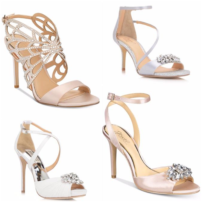 f991ec9372b57 Články Svadobné topánky s leskom kryštálov   všetko, čo nevesta ...