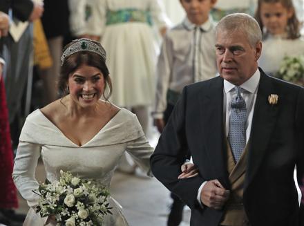 28684669319b Články Kráľovská svadba  Britská princezná Eugenie sa vydala ...
