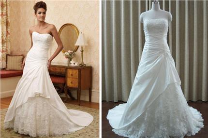 d546622176e9 Výstavy Vysnívané svadobné šaty. Originál alebo fejk