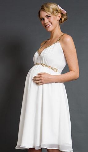 d47ed68618bd Články Svadobné šaty pre tehotné nevesty inšpirované 50. a 60. rokmi ...