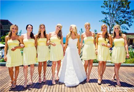 Handmade svadba 5 farebných tipov  Družičky v pastelových farbách ... 2efe24088d0
